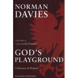 GOD'S PLAYGROUND A HISTORY OF POLAND VOLUME 2 Davies Norman