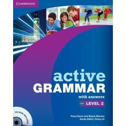 ACTIVE GRAMMAR 2 WITH ANSWERS + CD PODRĘCZNIK JĘZYK ANGIELSKI Fiona Davis, Wayne Rimmer