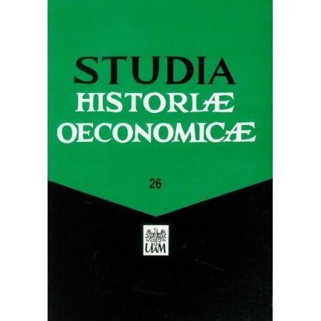 STUDIA HISTORIAE OECONOMICAE