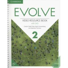EVOLVE 2 VIDEO RESOURCE BOOK WITH DVD Carolyn Flores, Carolyn Clarke Flores