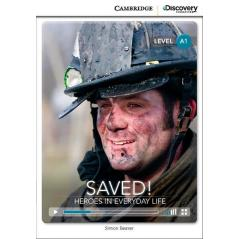SAVED! HEROES IN EVERYDAY LIFE BEGINNING BOOK WITH ONLINE ACCESS A1 Simon Beaver