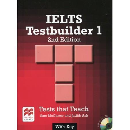 IPELTS 1 TESTBUILDER TESTS THAT TEACH WITH KEY + 2x CD Sam McCarter, Judith Ash