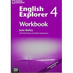 ENGLISH EXPLORER 4 WORKBOOK WITH CD Jane Bailey, Arek Tkacz, Helen Stephenson