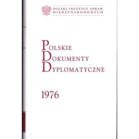 POLSKIE DOKUMENTY DYPLOMATYCZNE 1976