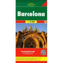 BARCELONA MAPA SAMACHODOWA 1:10000