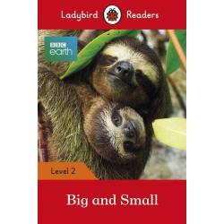 BBC EARTH BIG AND SMALL PODRĘCZNIK Ladybird Readers