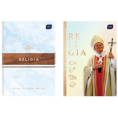 RELIGIA ZESZYT W KRATKĘ  64 KARTKI A5