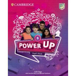 POWER UP LEVEL 5 PUPIL'S BOOK Caroline Nixon, Michael Tomlinson, Colin Sage