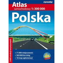 POLSKA ATLAS SAMOCHODOWY 1 :300 000