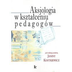 AKSJOLOGIA W KSZTAŁCENIU PEDAGOGÓW Janina Kostkiewicz