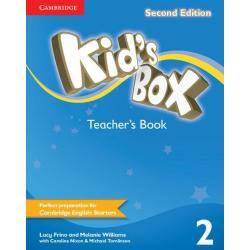 KIDS BOX SECOND EDITION 2 TEACHERS BOOK Lucy Frino, Melanie Williams