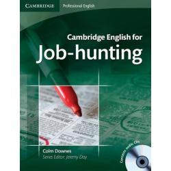 CAMBRIDGE ENGLISH FOR JOB-HUNTING STUDENT'S BOOK + CD Joshua Foer