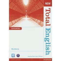 NEW TOTAL ENGLISH ADVANCED WORKBOOK Z PŁYTĄ CD Antonia Clare, J.J. Wilson