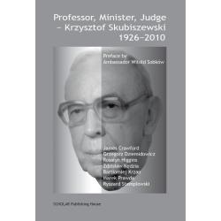 PROFESSOR MINISTER JUDGE - KRZYSZTOF SKUBISZEWSKI 1926-2010