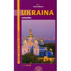 UKRAINA AUTOATLAS 1:1 100 000