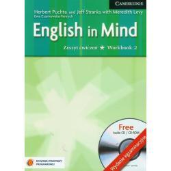 ENGLISH IN MIND 2 WORKBOOK + CD Herbert Puchta, Meredith Levy, Jeff Stranks