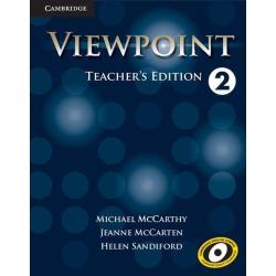 VIEWPOINT 2 TEACHER'S EDITION Michael Mccarthy