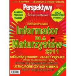 INFORMATOR DLA MATURZYSTÓW 2011