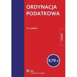 ORDYNACJA PODATKOWA Roman Rudnik