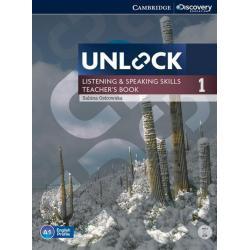 UNLOCK  1 LISTENING AND SPEAKING SKILLS TEACHERS BOOK + DVD Sabina Ostrowska