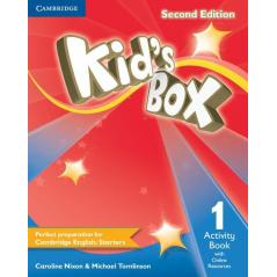 KID'S BOX SECOND EDITION 1 ACTIVITY BOOK WITH ONLINE RESOURCES Caroline Nixon, Michael Tomlinson