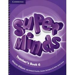 SUPER MINDS 6 TEACHER'S BOOK Melanie Williams
