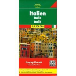 ITALIEN MAPA DROGOWA 1: 1 000 000