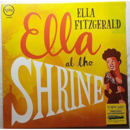 ELLA FITZGERALD ELLA AT THE SHRINE WINYL