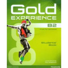 GOLD EXPERIENCE B2 STUDENT'S BOOK + DVD