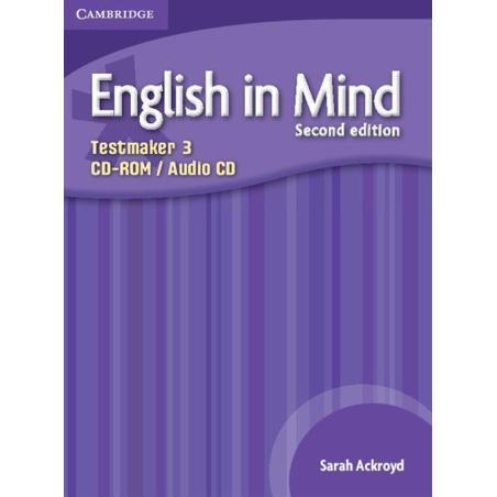 ENGLISH IN MIND 3 TESTMAKER - CD Sarah Ackroyd