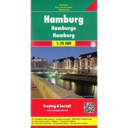 HAMBURG MAPA 1:20 000