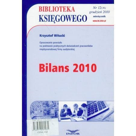 BILANS 2010 Krzysztof Witucki