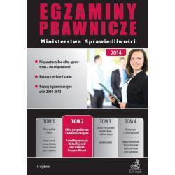 EGZAMINY PRAWNICZE MINISTERSTWA SPRAWIEDLIWOŚCI 2 AKTA GOSPODARCZE I ADMINISTRACYJNE Grzegorz Witczak