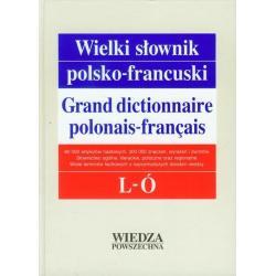 WIELKI SŁOWNIK POLSKO-FRANCUSKI  L-Ó Leon Zaręba, Jerzy Pieńkos, Elżbieta Pieńkos