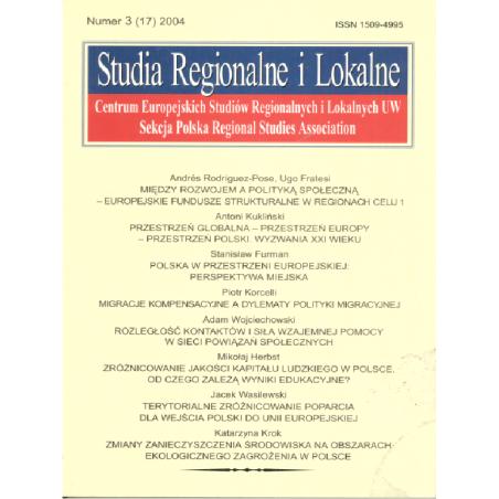 STUDIA REGIONALNE I LOKALNE (17) 2004