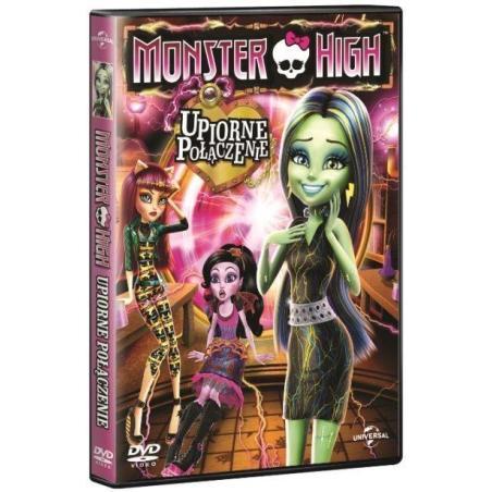MONSTER HIGH UPIORNE POŁĄCZENIE DVD PL