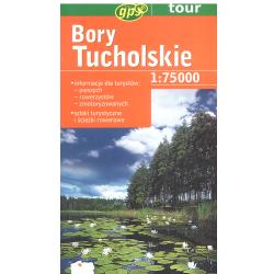 BORY TUCHOLSKIE MAPA TURYSTYCZNA 1:75 000