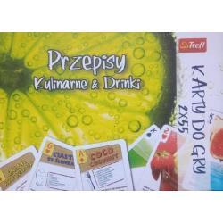 KARTY DO GRY 2 TALIE PRZEPISY KULINARNE I DRINKI