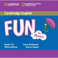 FUN FOR MOVERS AUDIO CD