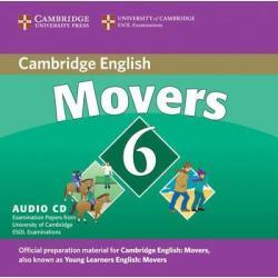 CAMBRIDGE ENGLISH MOVERS 6 AUDIO CD