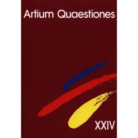ARTIUM QUAESTIONES XXIV