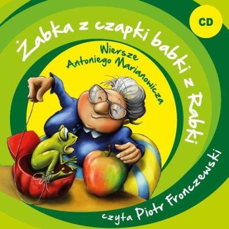 ŻABKA Z CZAPKI BABKI Z RABKI AUDIOBOOK CD PL