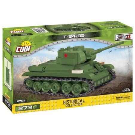 CZOŁG T-34-85 KLOCKI COBI 6+