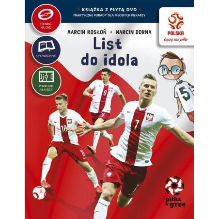 LIST DO IDOLA PIŁKA W GRZE PZPN + DVD Marcin Rosłoń