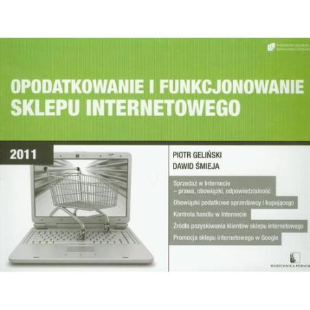 OPODATKOWANIE I FUNKCJONOWANIE SKLEPU INTERNETOWEGO Piotr Geliński, Dawid Śmieja