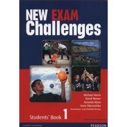 NEW EXAM CHALLENGES 1 STUDENT'S BOOK PODRĘCZNIK WIELOLETNI + CD Anna Sikorzyńska, Michael Harris, David Mower