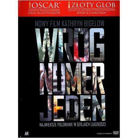 WRÓG NUMER JEDEN KSIĄŻKA + DVD PL