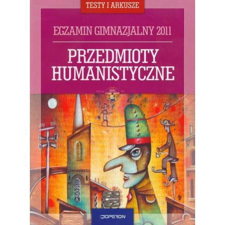 EGZAMIN GIMNAZJALNY 2011 PRZEDMIOTY HUMANISTYCZNE + CD Jolanta Eisner, Anna Adamiec