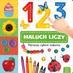 123 MALUCH LICZY PIERWSZE CYFERKI MALUCHA