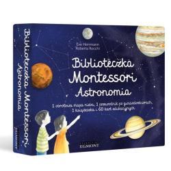 BIBLIOTECZKA MONTESSORI ASTRONOMIA Eve Herrmann 3+
